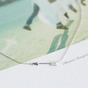 Cute Mini Arrow Necklaces,necklace For Girlfriend,charm ...