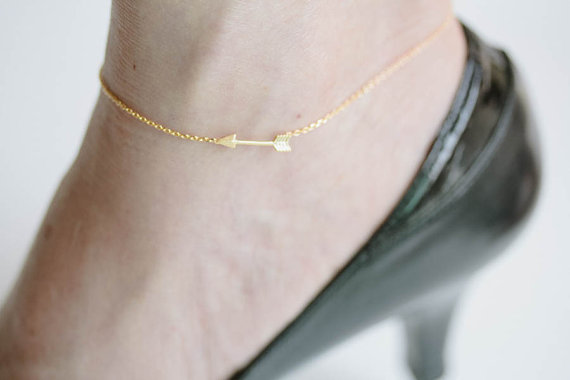 arrow anklets, anklets for women,anklet in handmade,anklet bracelet,ankle jewelry,ankle bracelet,anklet jewelry,ankle chain,A009K
