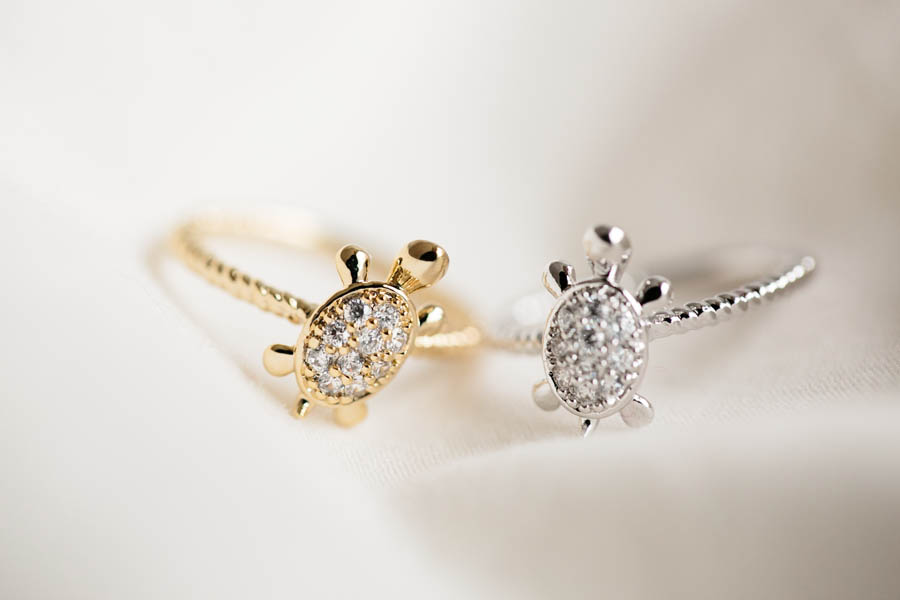 cz turtle ringjewelry ring jewelanimal ringbest gift With turtle wedding ring