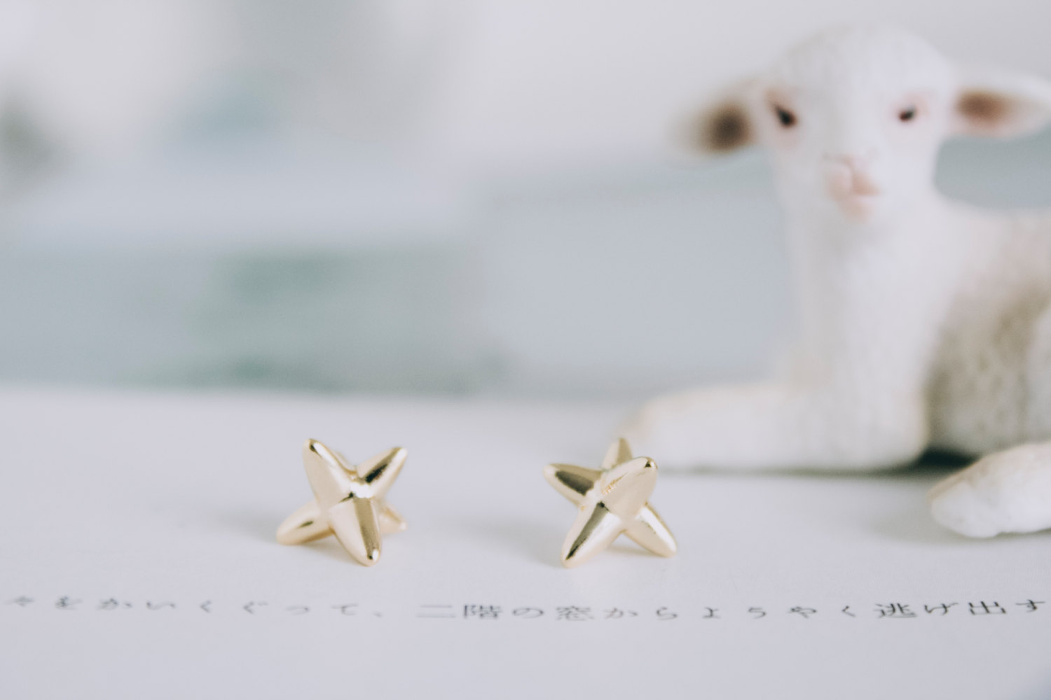 Funky Ear Tops Shooting Star Earrings/funky